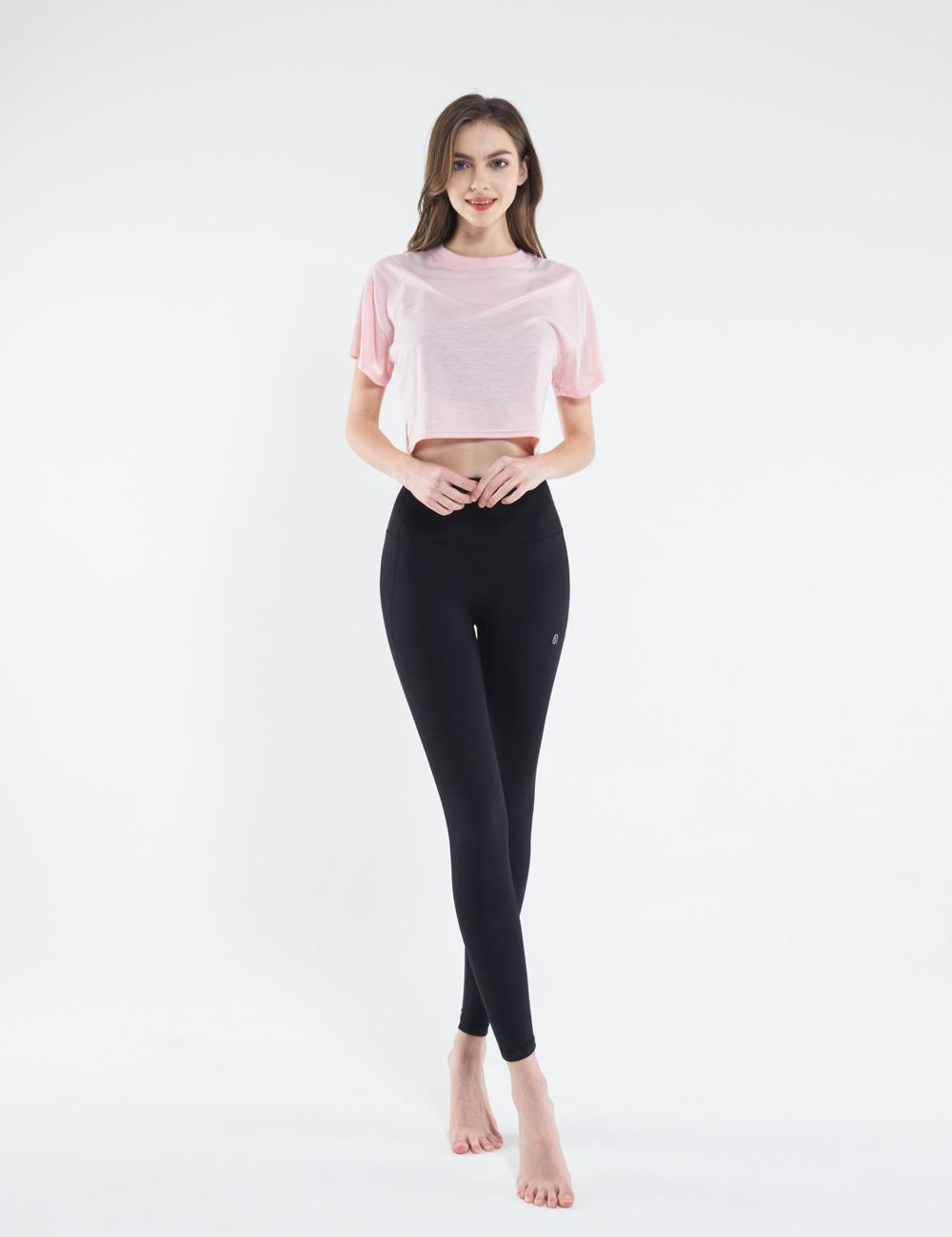 스컬피그(SKULLPIG) [SA5002] 조이 크롭탑 핑크
