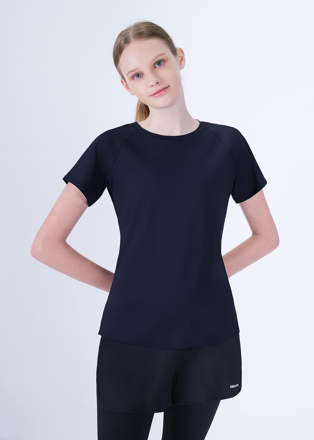 스컬피그(SKULLPIG) 에어프레쉬 티셔츠 네이비