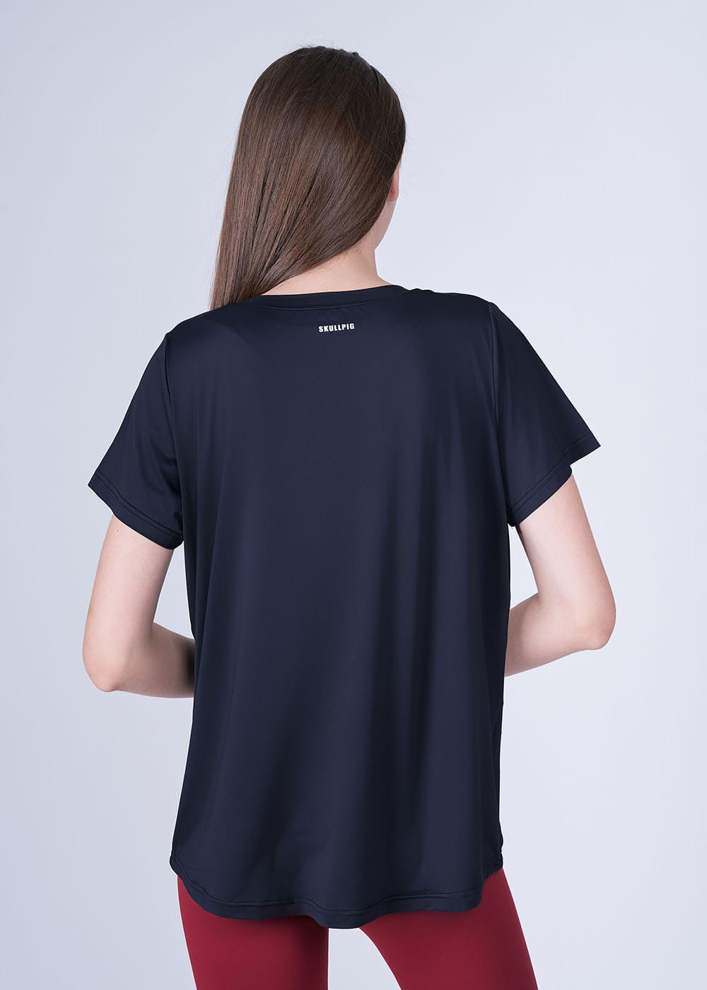 스컬피그(SKULLPIG) 에센셜 티셔츠 블랙