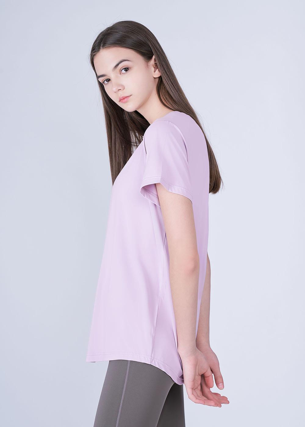 스컬피그(SKULLPIG) 에센셜 티셔츠 라이트퍼플